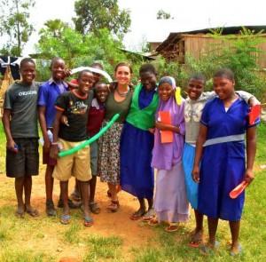 Angelica in Uganda