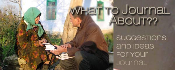 What to Journal about for Mission Trips