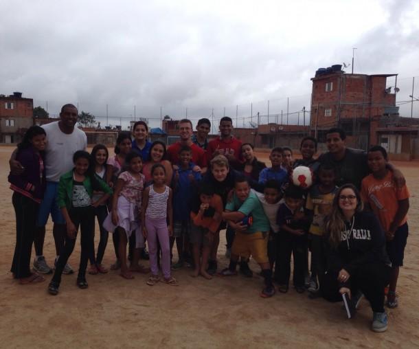 mission trip to brasil