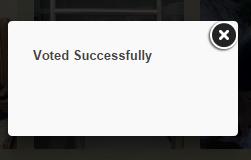 votedsuccessfully